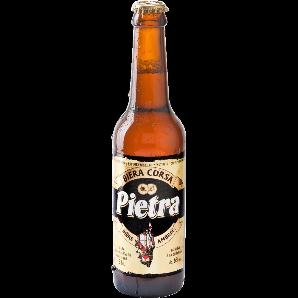 Pietra bière Corse ambrée, 6° (33 cl)