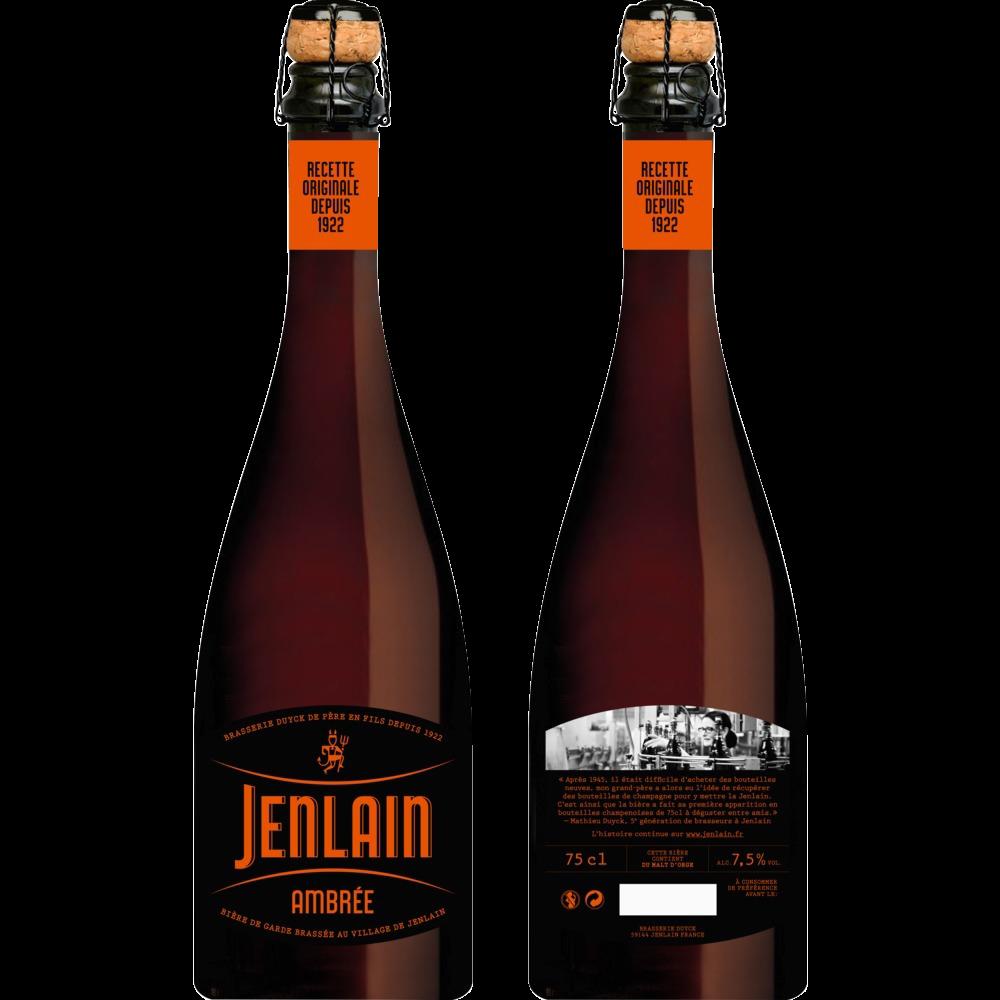 Jenlain ambrée l'originale, 7.5° (75 cl)