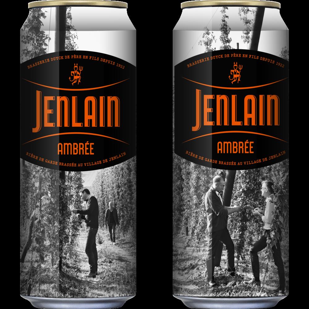 Jenlain ambrée l'originale, 7.5° (50 cl)