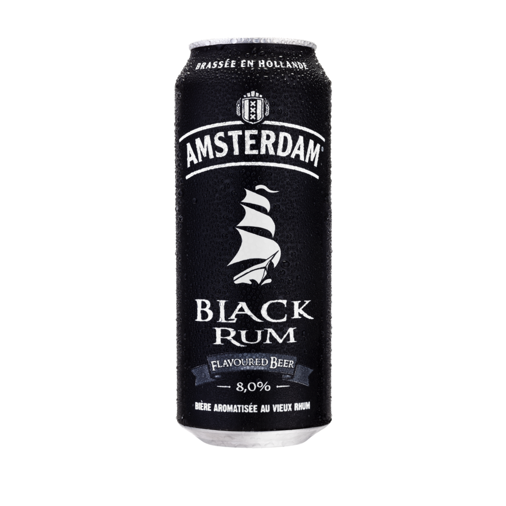 Amsterdam Rum flavoured beer, 8° (50 cl)