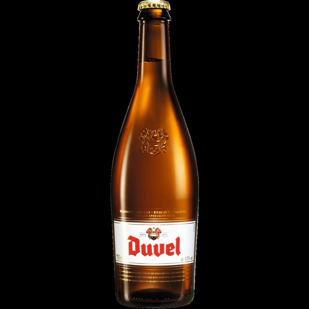Duvel Bière blonde artisanale, 8.5° (75 cl)