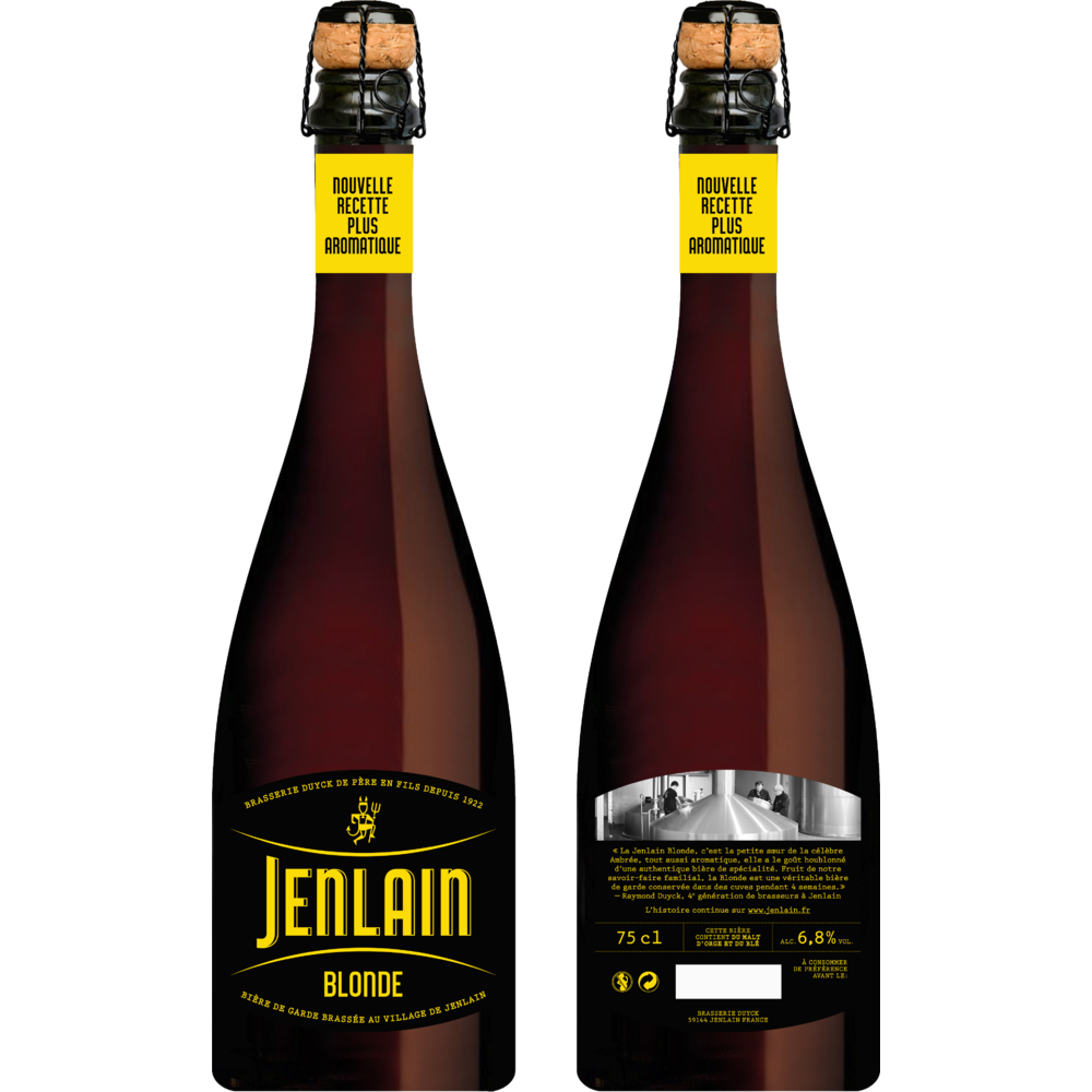 Jenlain blonde, 6.8° (75 cl)