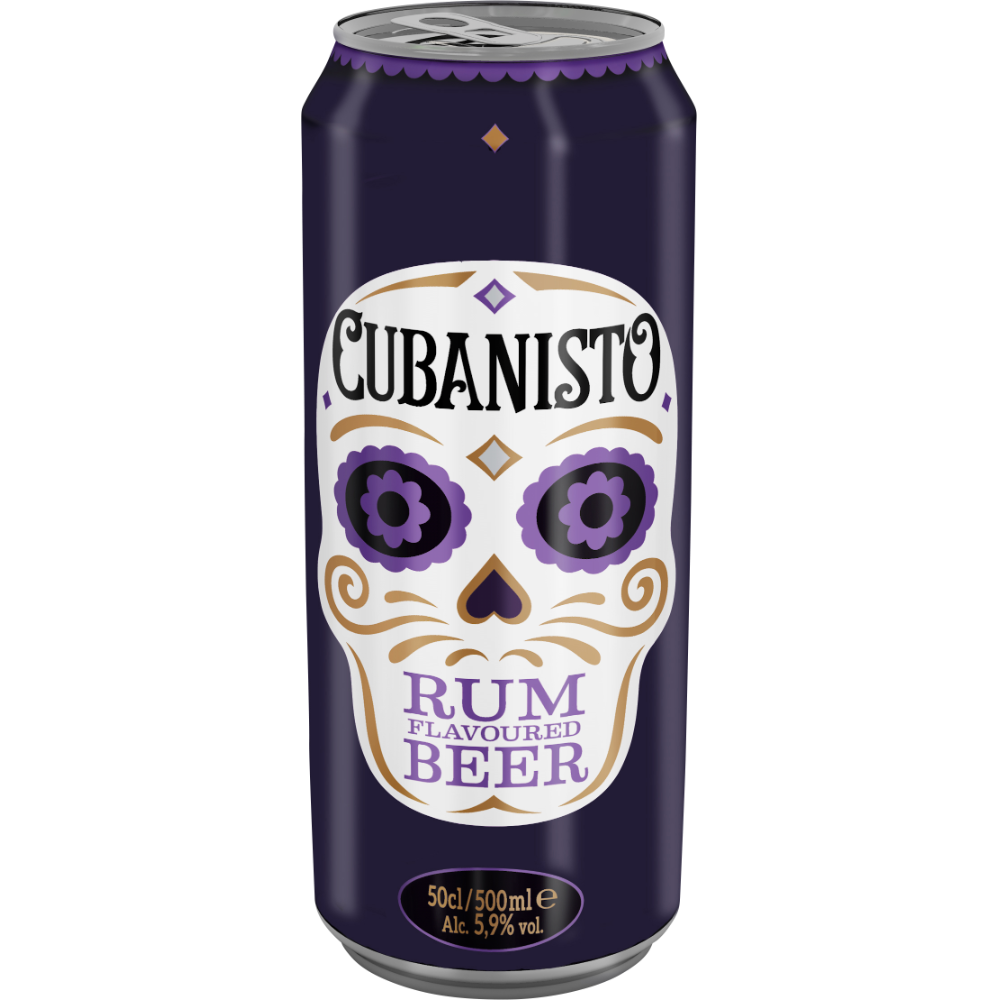 Cubanisto bière aromatisée au rhum, 5.9° (50 cl)