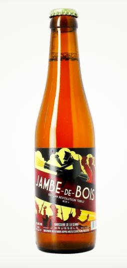 Bière Jambe de Bois, Brasserie de la Senne (33 cl)