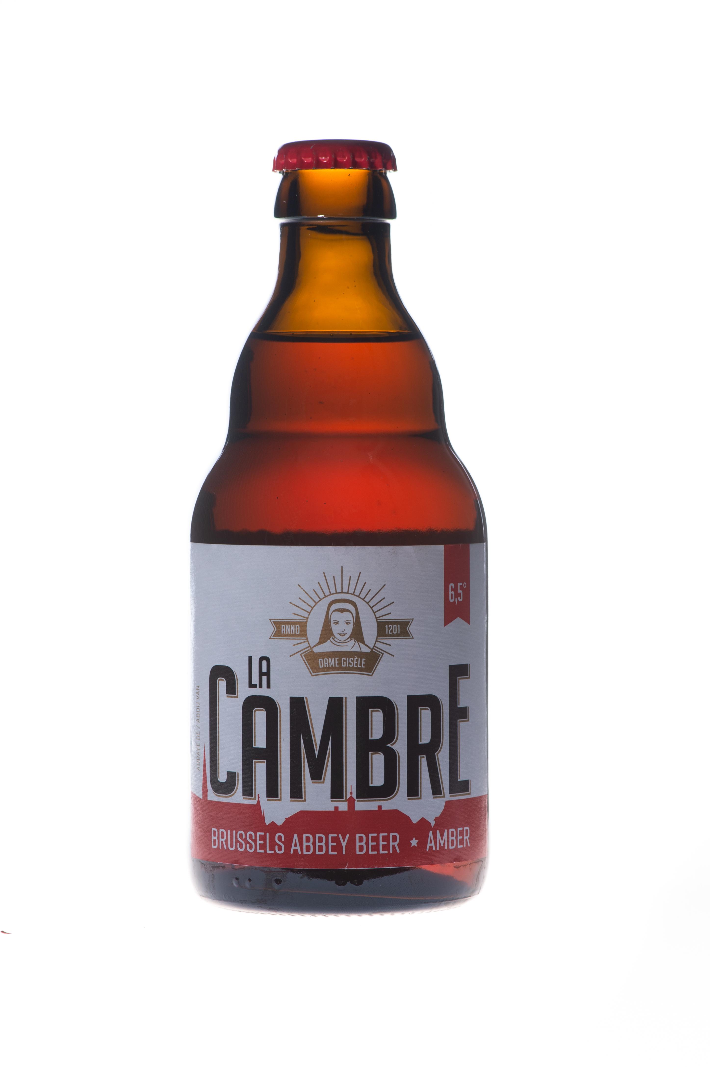 Bière La Cambre Ambrée, Abbaye de la Cambre (33 cl)