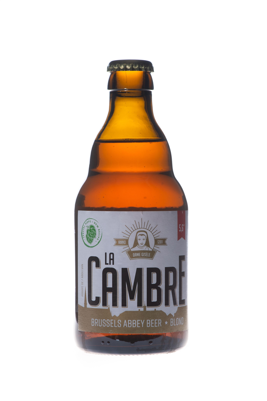 Bière La Cambre Blonde, Abbaye de la Cambre (33 cl)