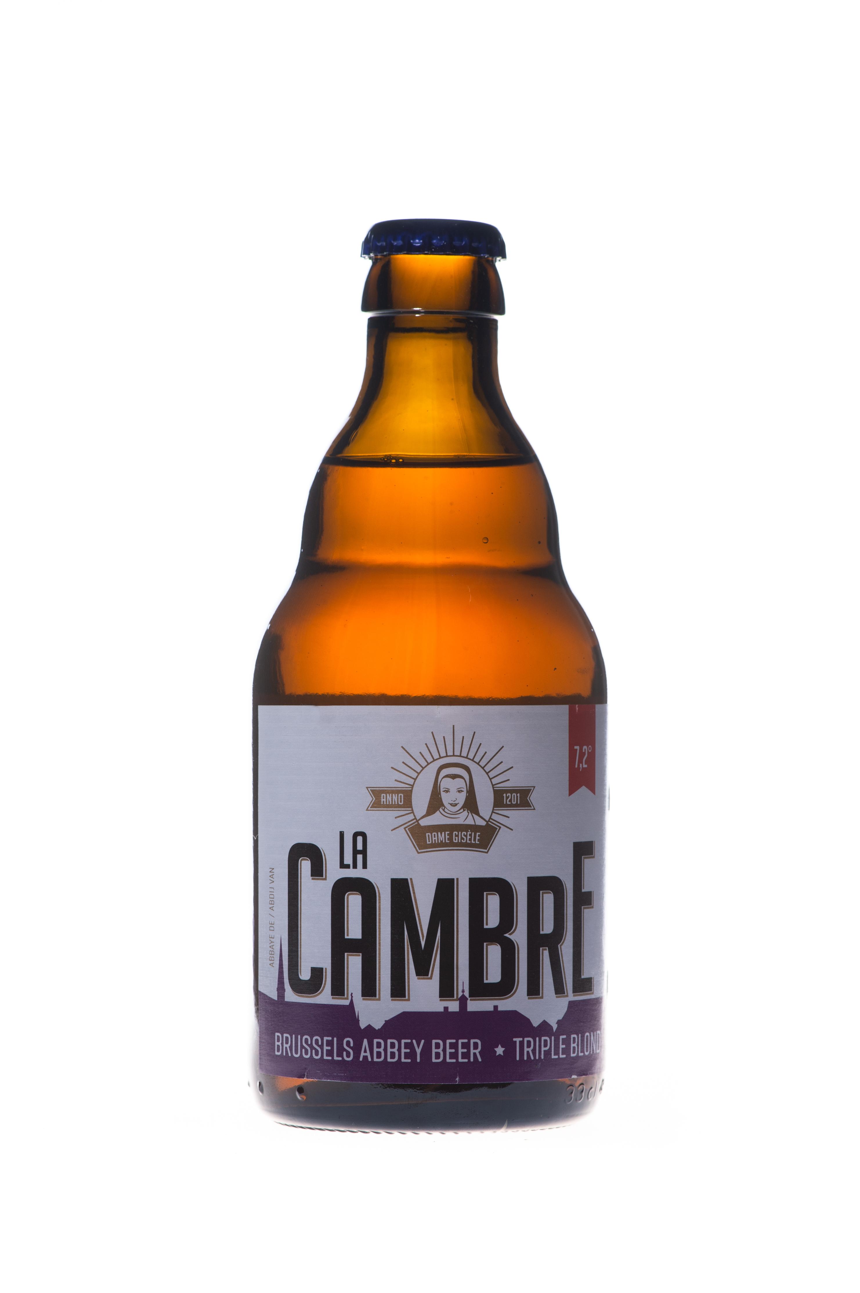 Bière La Cambre Triple, Abbaye de la Cambre (33 cl)