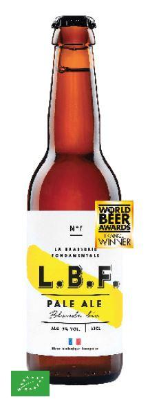 Bière Pale Ale 5° BIO, LBF (33 cl)