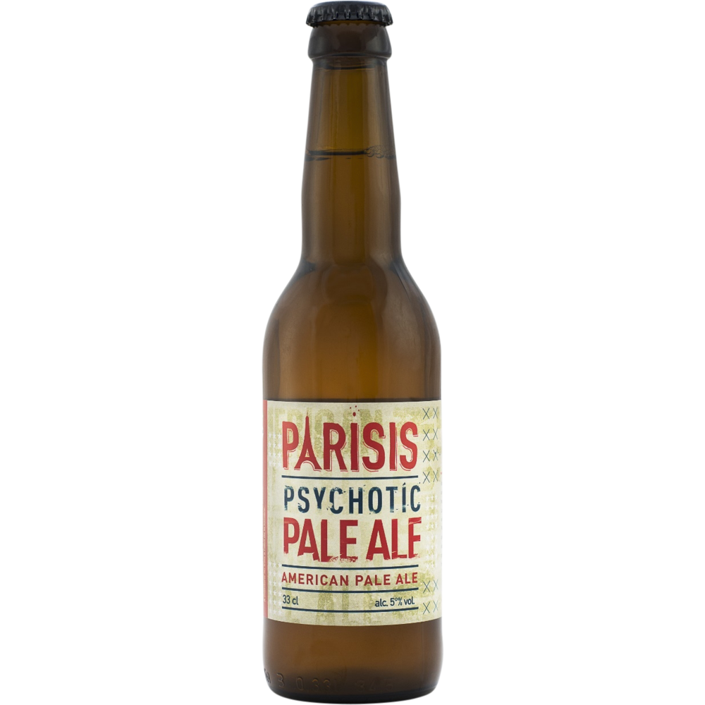 Parisis Psychotic pale ale 5°(33 cl)