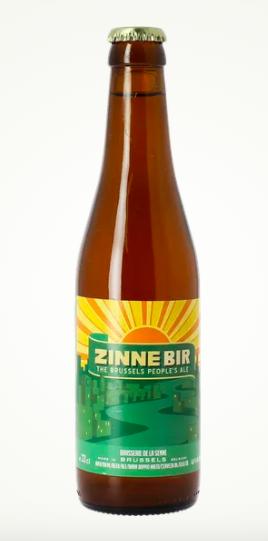 Bière Zinne Bir, Brasserie de la Senne (33 cl)