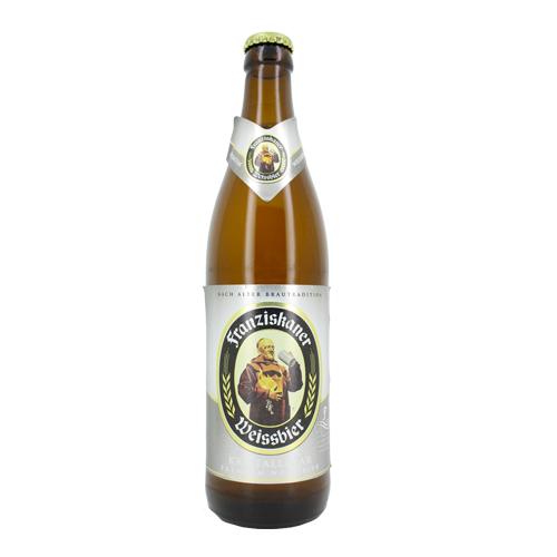Franziskaner Hefe Weiss blanche (50 cl)