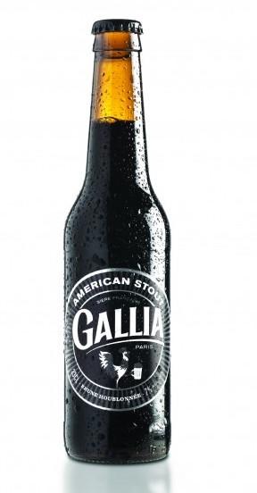 American Stout Bière brune, Gallia (33 cl)