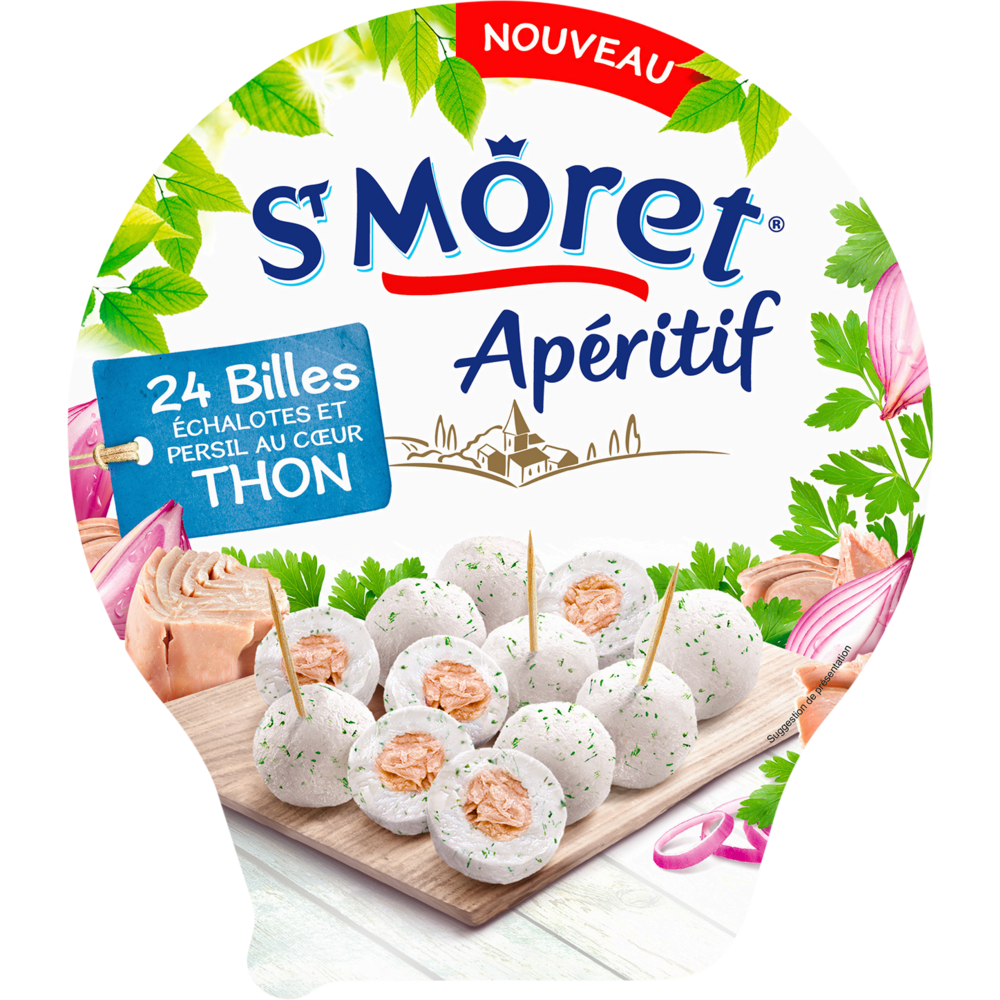 Biles de fromage échalotes persil et thon, St Morêt (100 g)