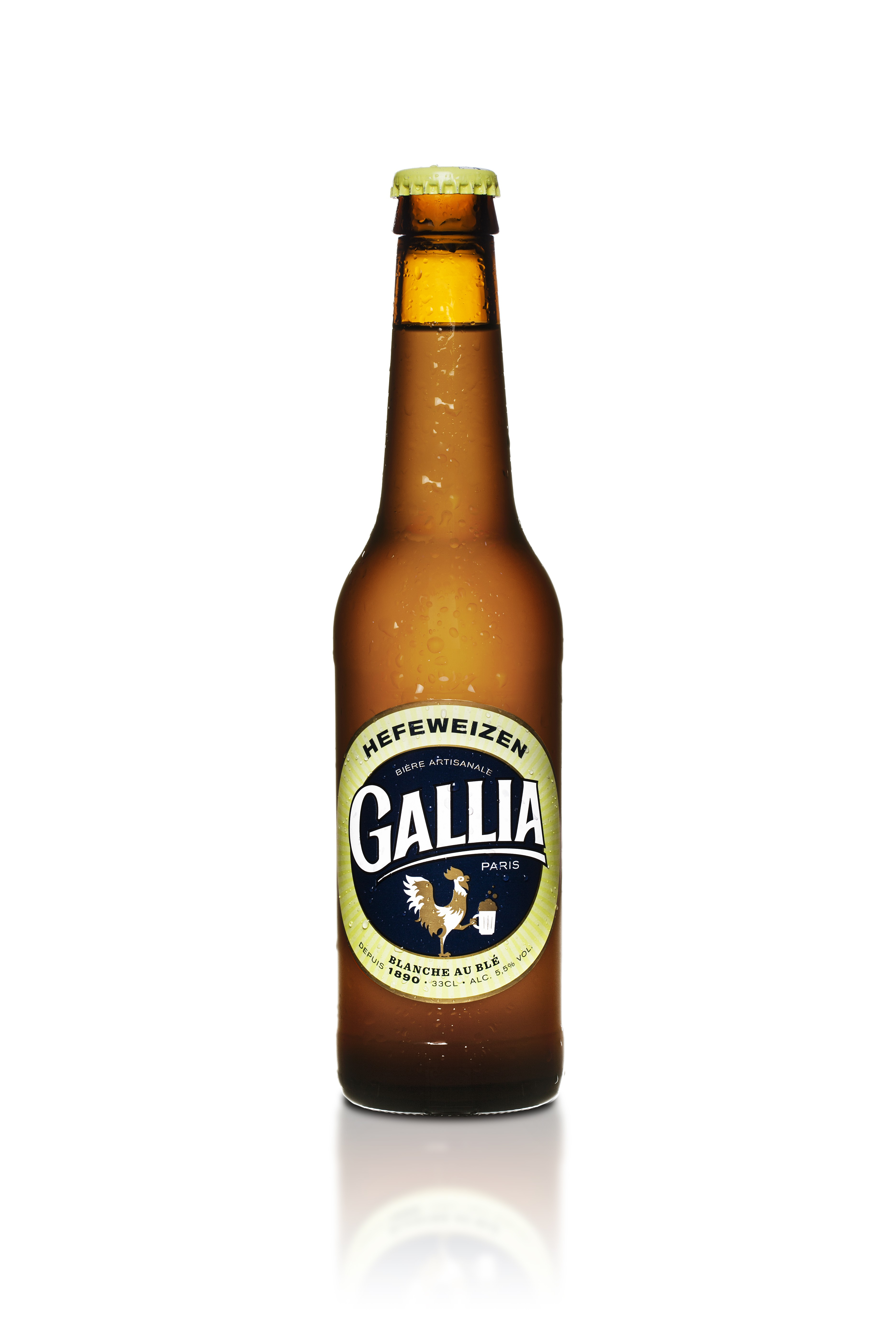 Hefeweizen Bière blanche, Gallia (33 cl)