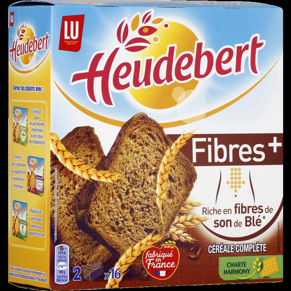 Biscottes Fibres Plus, Heudebert (280 g)