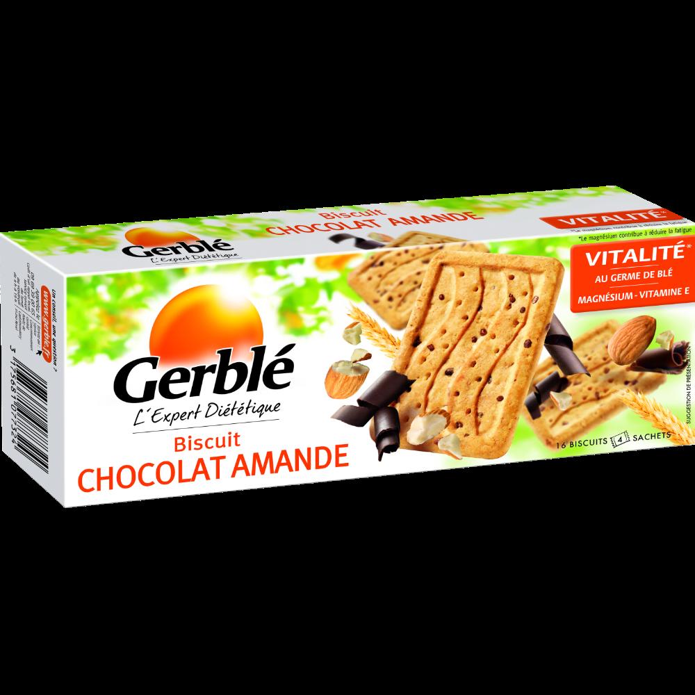 Biscuits chocolat amande, Gerblé (200 g)