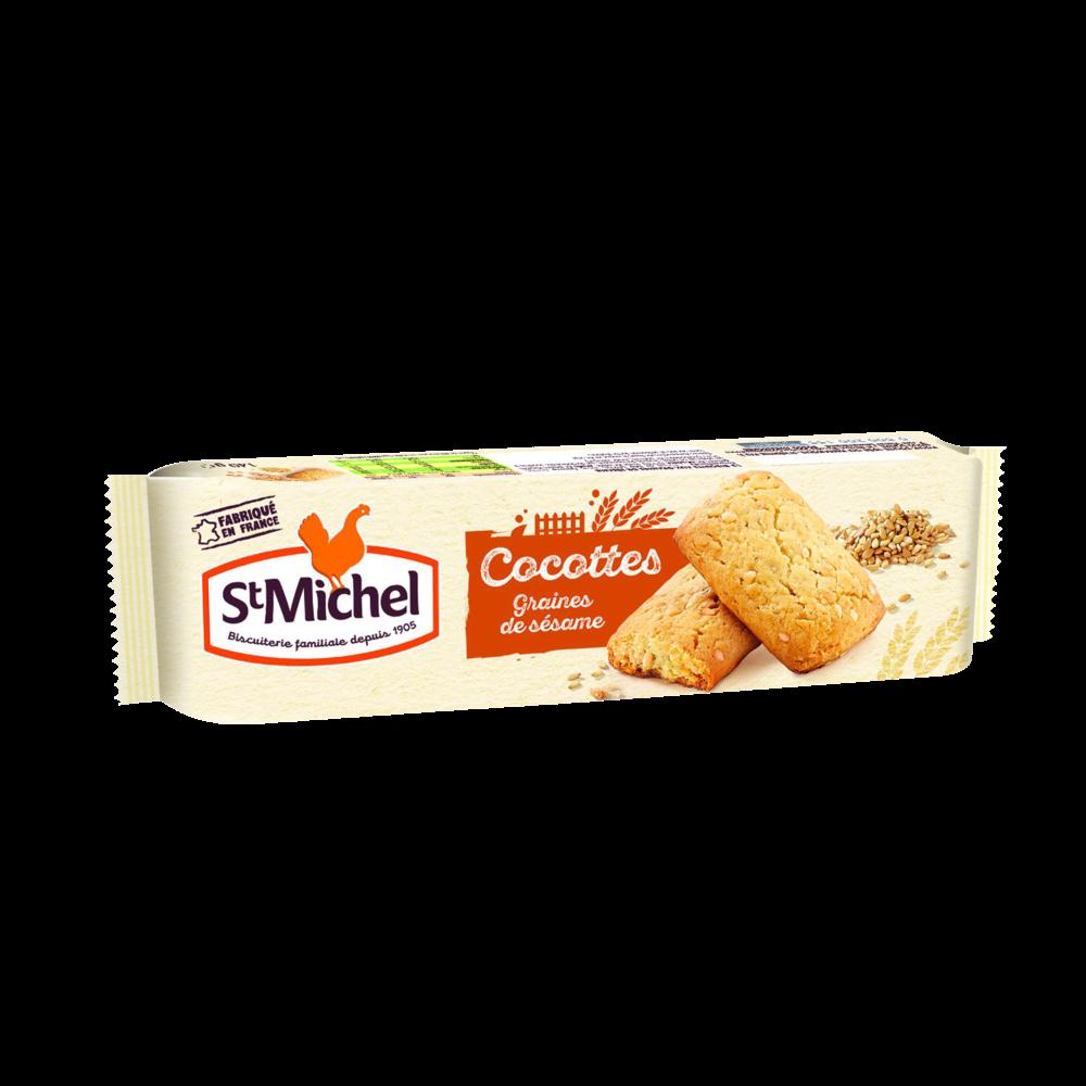 Cocottes graines de sésame, St Michel (140 g)
