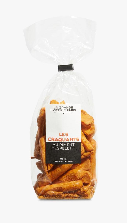 Biscuits craquants au piment d'Espelette, La Grande Epicerie de Paris (80 g)