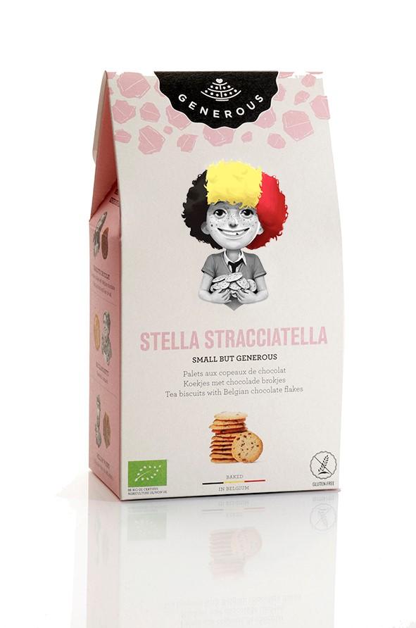 Biscuits Stella Stracciatella BIO, Generous (100 g)