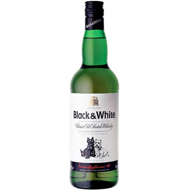 Whisky Black & White 40° (70 cl)