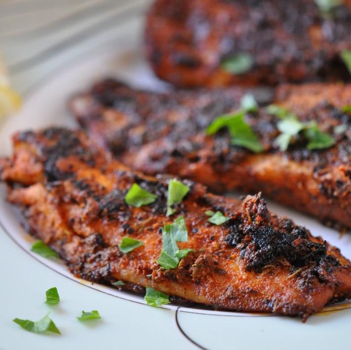 """Blackened fish, ou la recette du """"poisson noirci"""" (250 g)"""