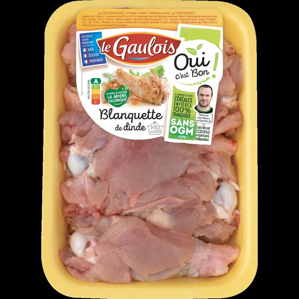 Blanquette de dinde, Le Gaulois (1 kg)