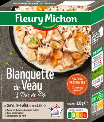 Blanquette de veau, Fleury Michon (330 g)