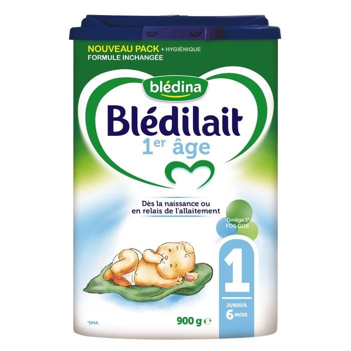 Lait en poudre Blédilait 1er age (900 g)