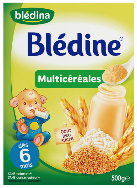 Blédine multicéréales - 6 mois, Blédina (500 g)