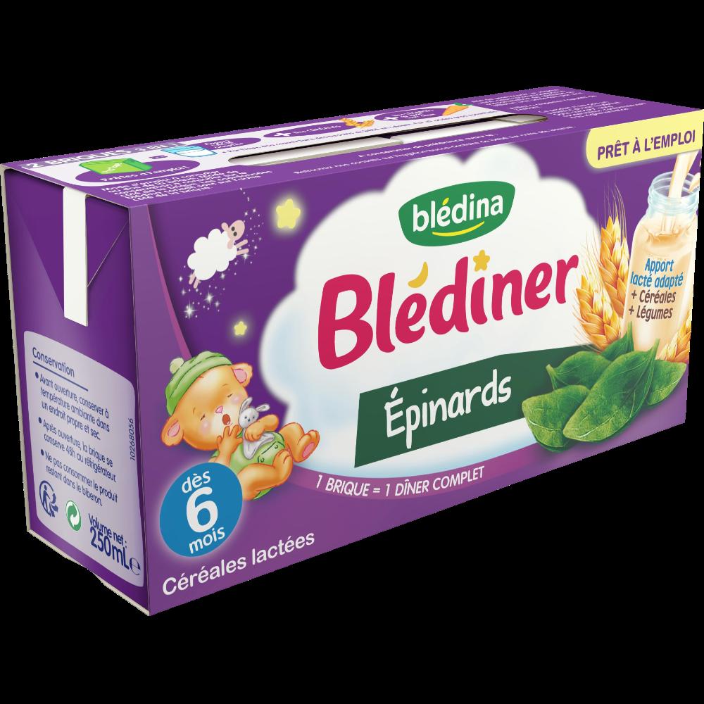 Blédiner aux épinards - dès 6 mois (2 x 250 ml)