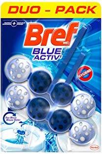 WC Bloc Power Bleu Activ'hygiene, Bref (x 2 + 1 gratuit)