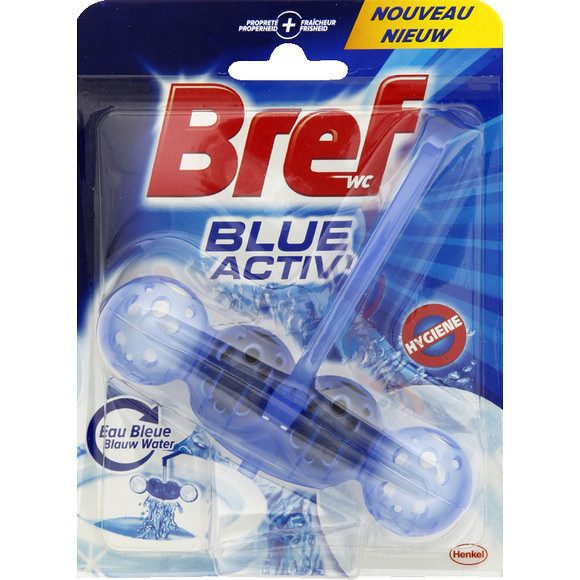 WC Bloc Power Bleu Activ'hygiene, Bref