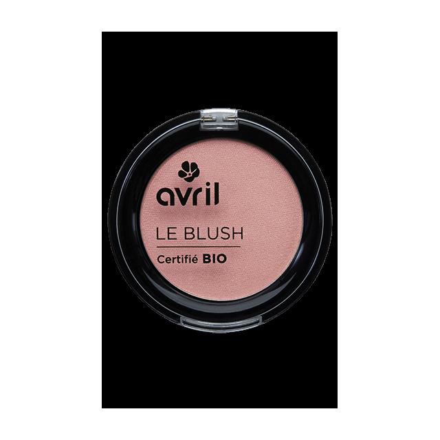 Blush rose éclat certifié BIO, Avril (2,5 g)