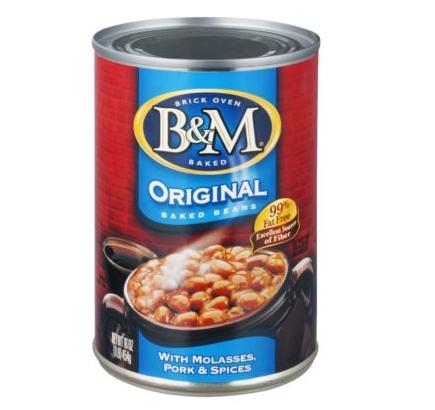 Baked beans, B&M (454 g)