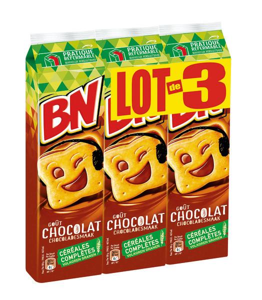 BN au chocolat LOT DE 3 (3 x 295 g)