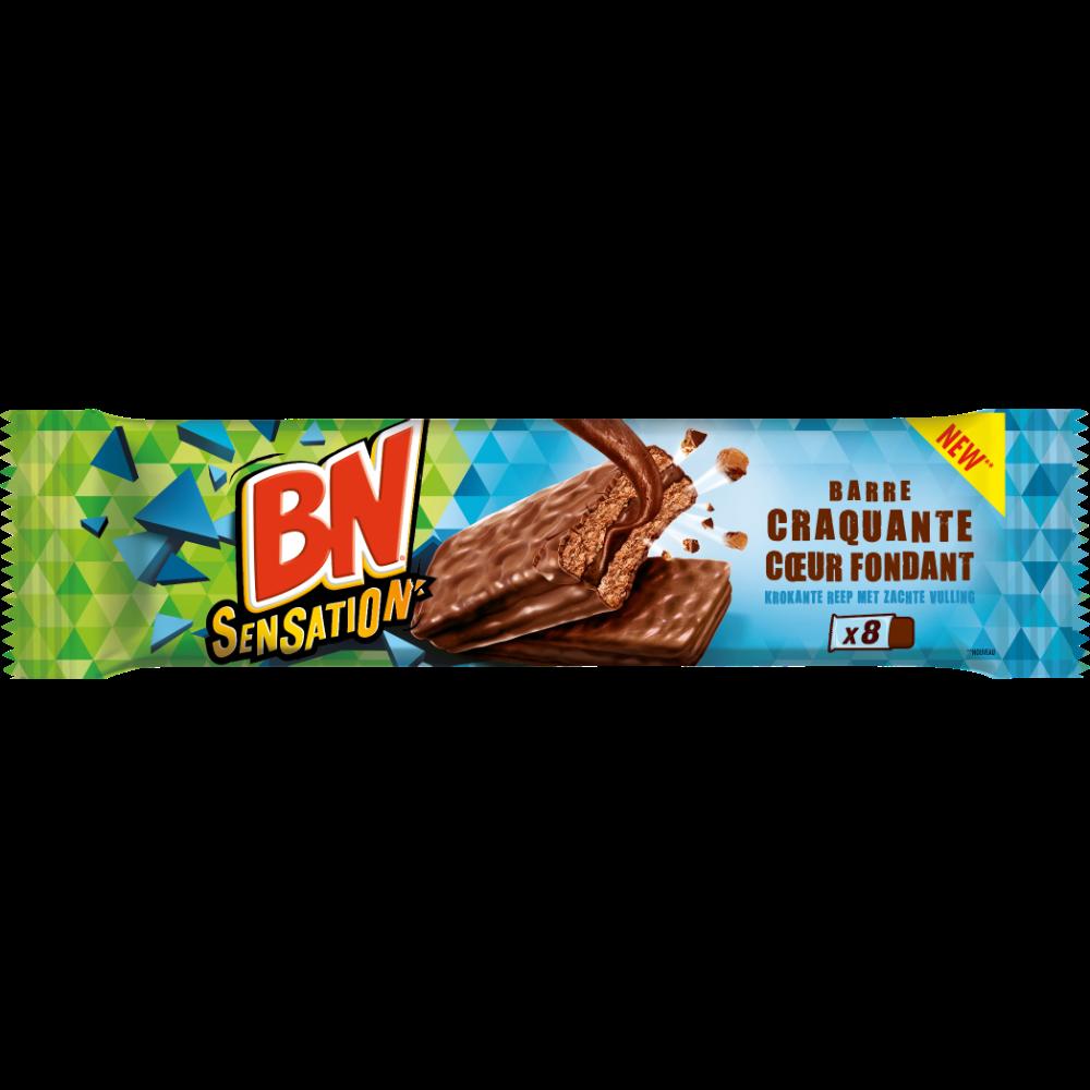 BN sensation choco crok coeur fondant (197 g)