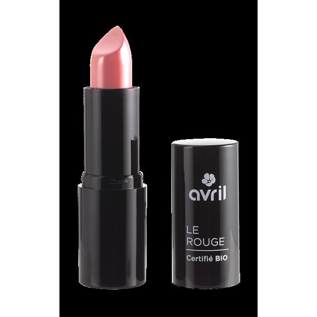 Rouge à lèvres bois de rose n°634 certifié BIO, Avril