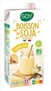 Boisson Biosoy vanille BIO, Soy (1 L)