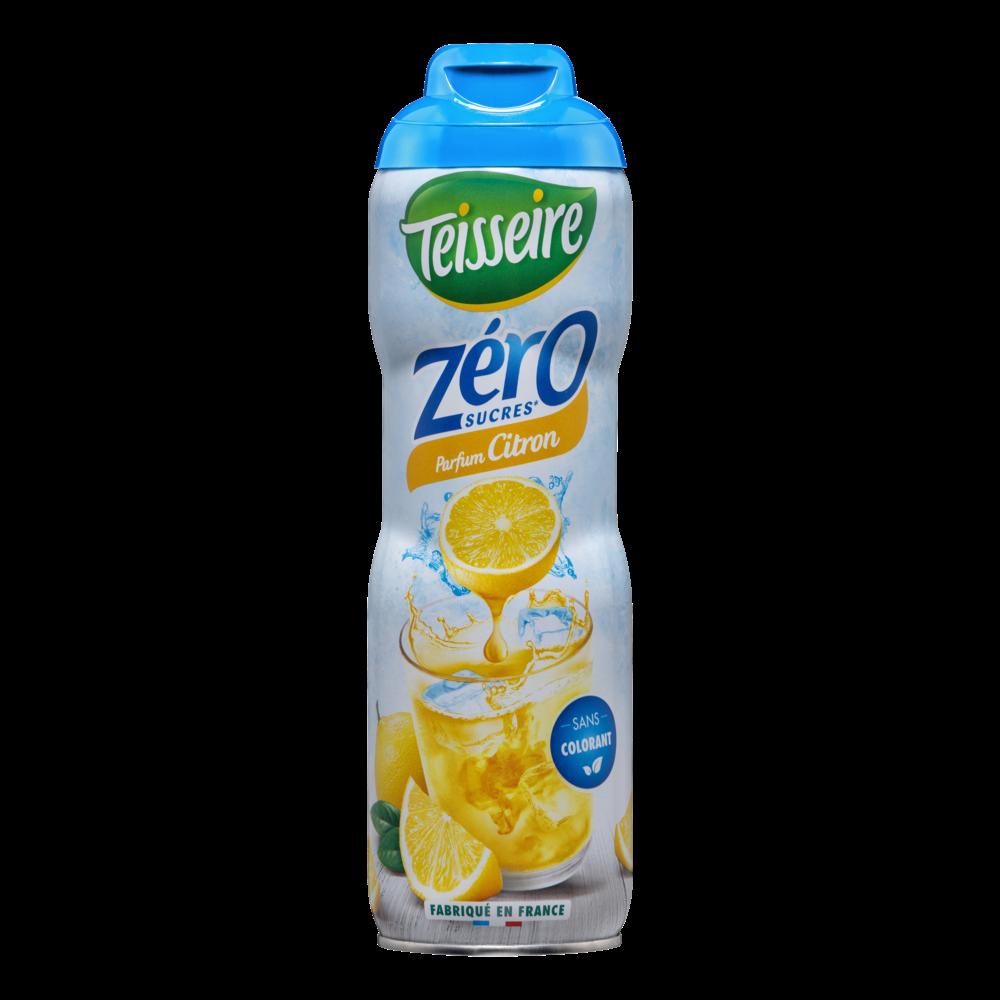 Sirop de citron 0%, Teisseire (60 cl)