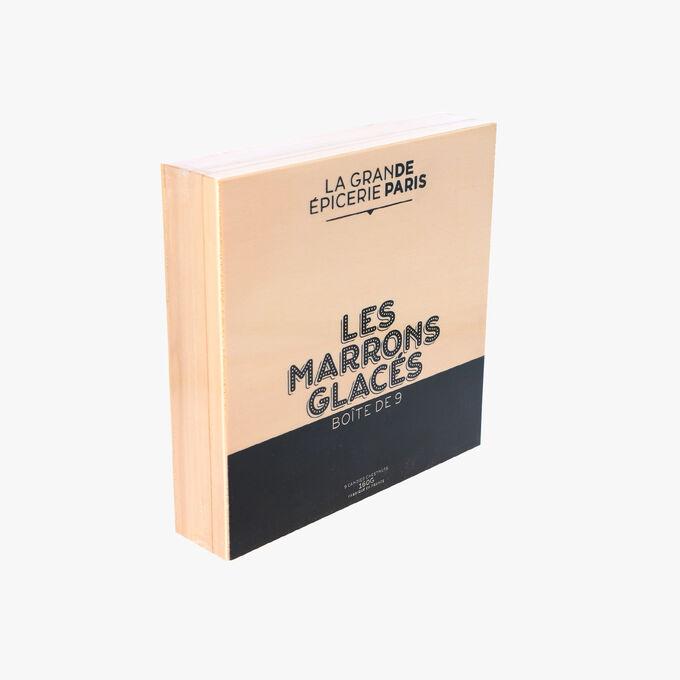 Boîtes de 9 marrons glacés, La Grande Epicerie de Paris (x 9, 160 g)