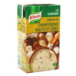 Douceur Champignons, bolets Cèpes, Knorr (50 cl)