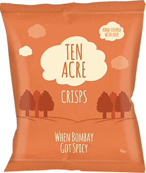 Chips Bombay Spicy, Ten Acre (40 g)