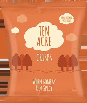 Chips Bombay Spicy, Ten Acre (40 g)