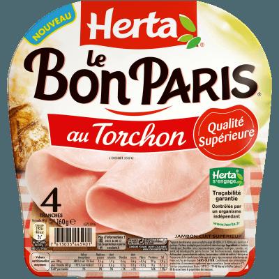 Jambon au torchon Le Bon Paris, Herta (160 g)