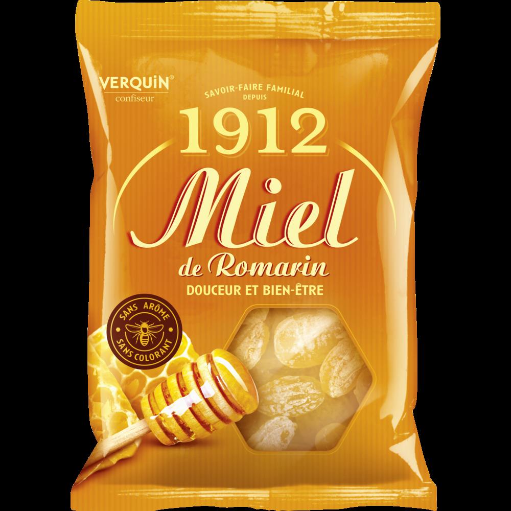 Bonbons au miel de romarin, Verquin (250 g)