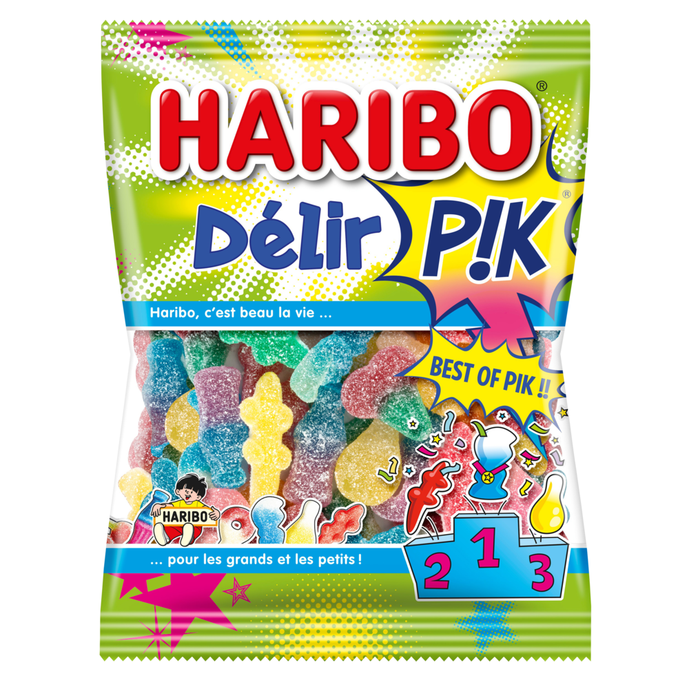 Bonbons Delir' Pik, Haribo (275 g)