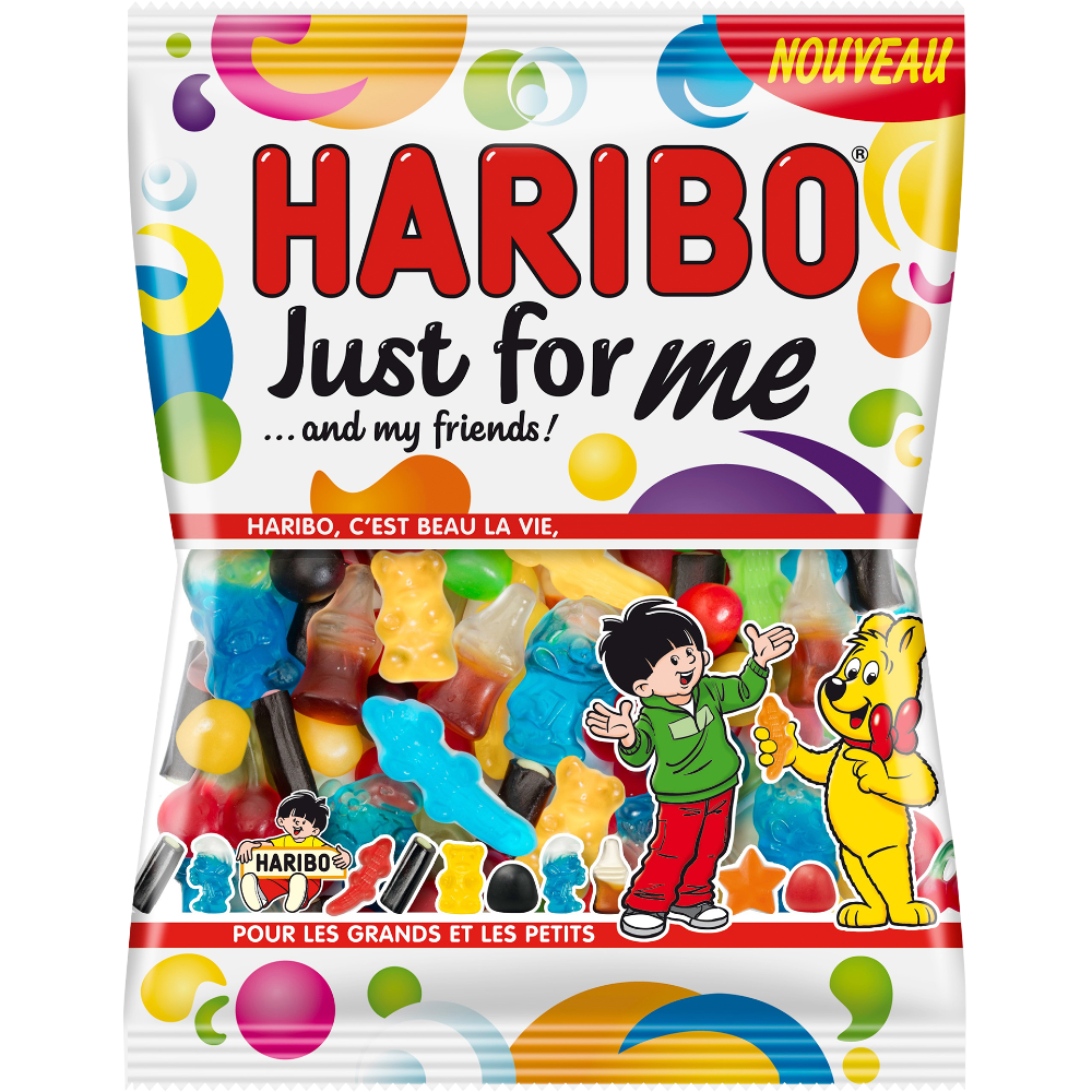Bonbons Just for me, Haribo (275 g)