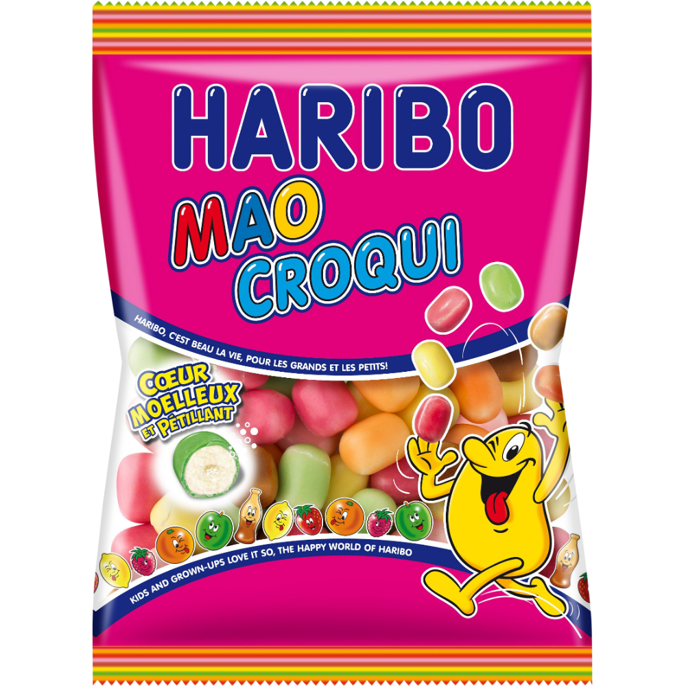 Bonbons Mao Croqui, Haribo (250 g)