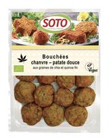 Bouchées chanvre patate douce BIO, Soto (180 g)