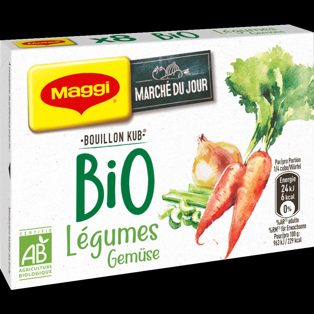 Bouillon de légumes BIO, Maggi (8 tablettes, 80 g)